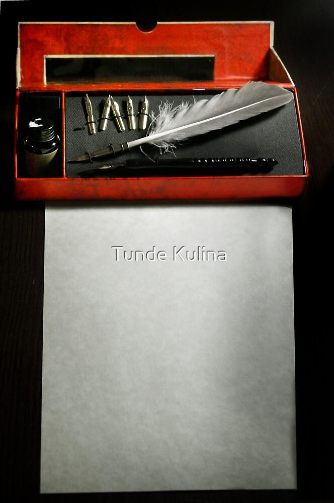 A level by Tunde Kulina