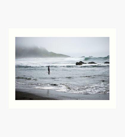 California Coast III Art Print