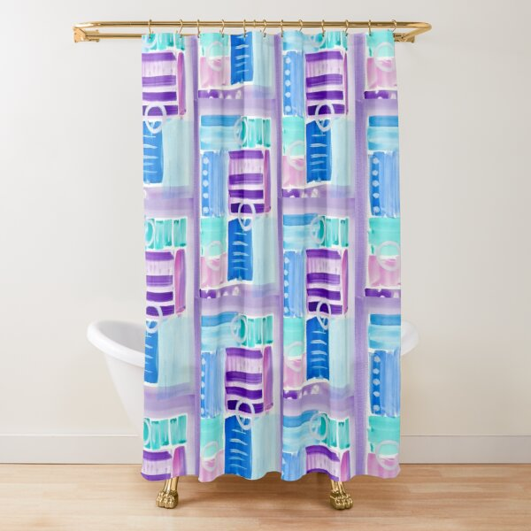 Shades of Optimism Shower Curtain