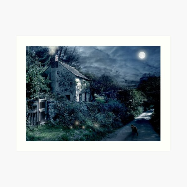 The Witches House Art Print