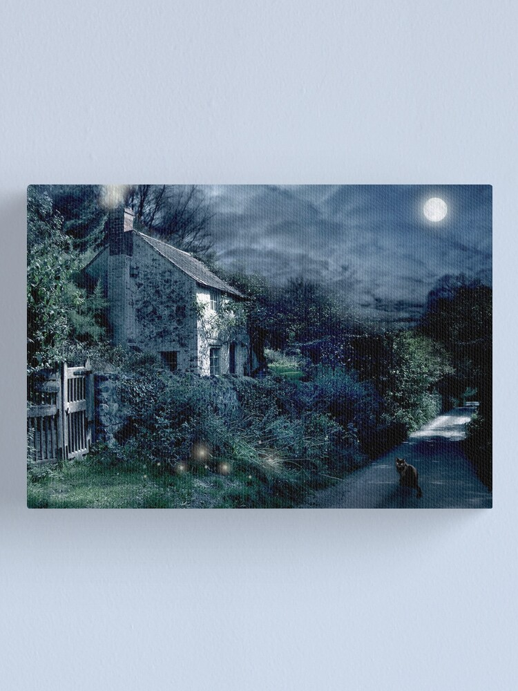 Alternate view of The Witches House Canvas Print