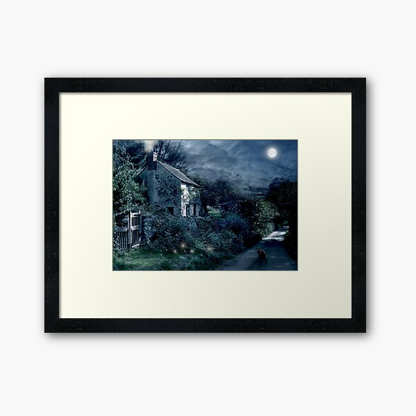 The Witches House Framed Art Print