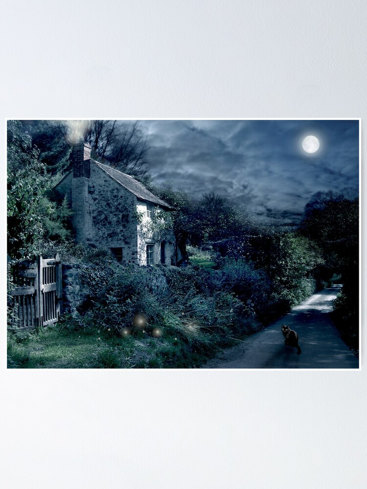 Alternate view of The Witches House Poster