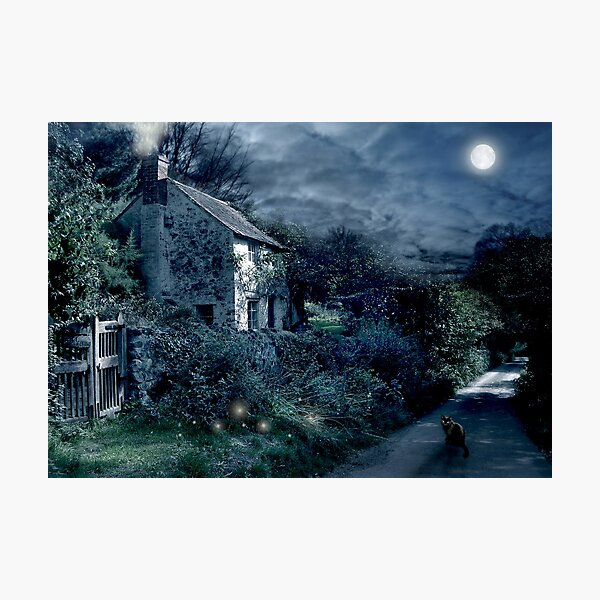 The Witches House Photographic Print