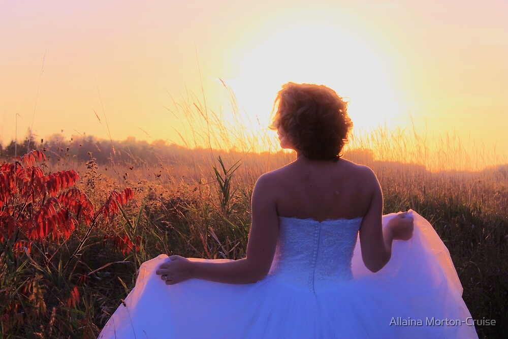 In a sea of grass stands your life and wife by Allaina Morton-Cruise
