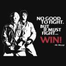Karate Kid - No Good to Fight by worldcollider