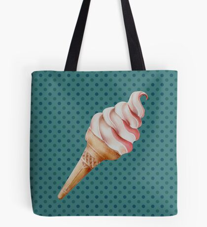 Soft Serve Ice-cream Tote Bag