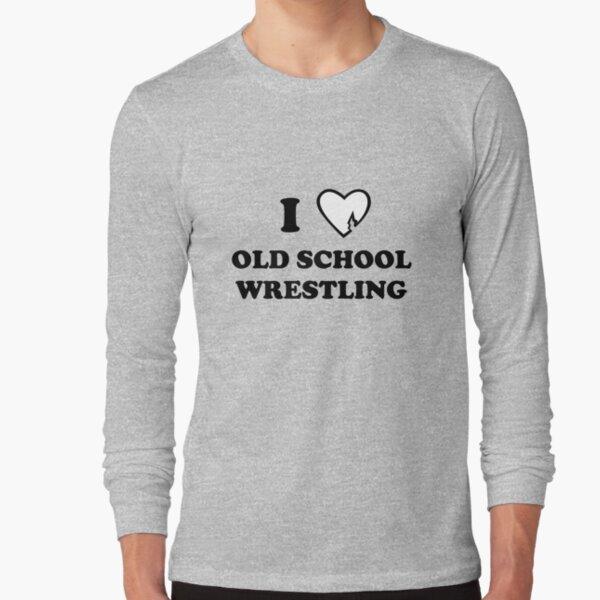 I Heart Wrestling Long Sleeve T-Shirt