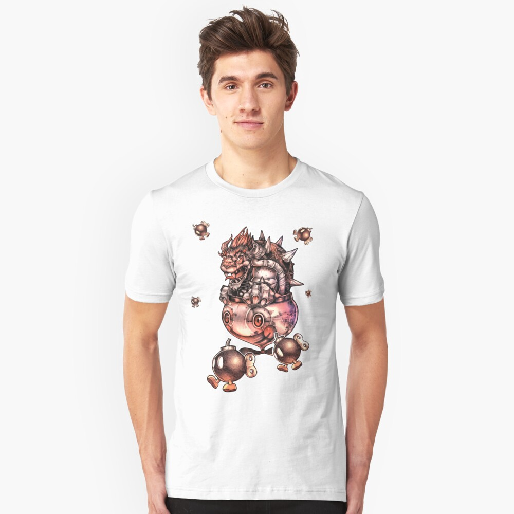 BOMBS AWAY BOWSER Unisex T-Shirt Front
