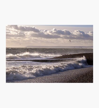 Sussex Waves Photographic Print