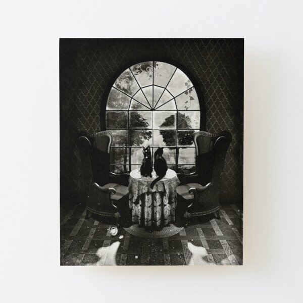 Room Skull Wood Mounted Print