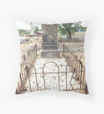 grave Charters Towers Pioneer Cemetery Throw Pillow