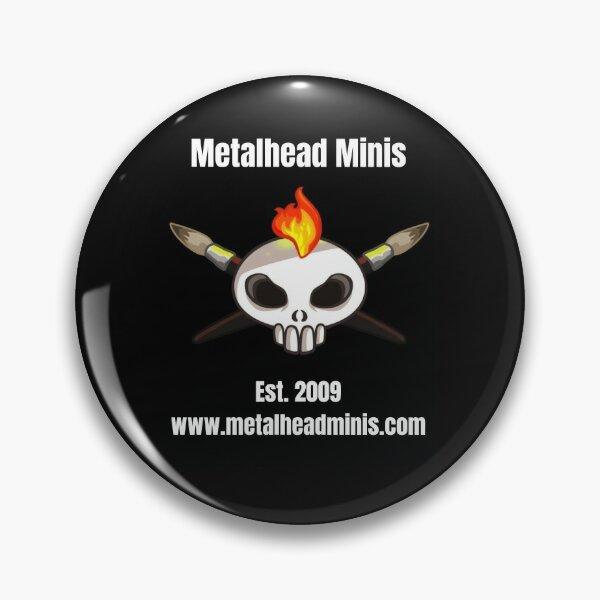 Metalhead Minis Logo - Large - 10 Year Anniversary Pin