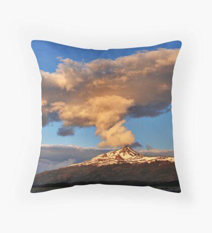 Sunset Cloud Throw Pillow