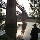 Burdekin River Railway Bridge (Old and New) Charters Towers, Queensland, Australia by myhobby