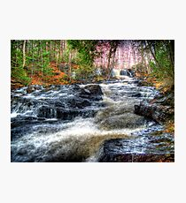 Waterfall - Skowhegan, Maine Photographic Print