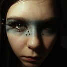 Playing with makeup. by Oceanna Solloway