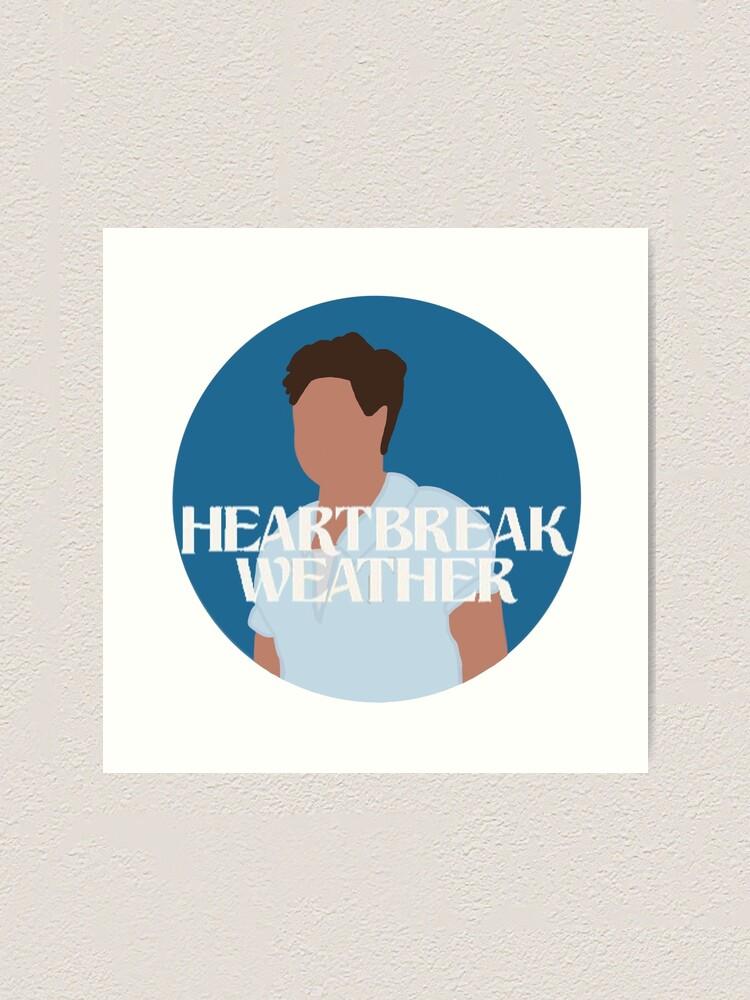 Heartbreak Weather Niall Horan Art Print By Rebekahrae Redbubble