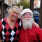 Santa & Me by © Loree McComb