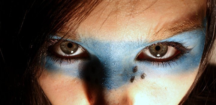It's in the eyes. by Oceanna Solloway