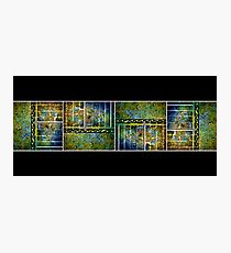 Below The Water Line Tetraptych [grunge] Photographic Print