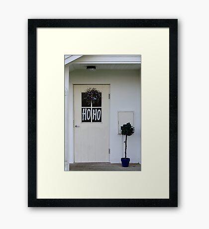 HoHo Framed Print