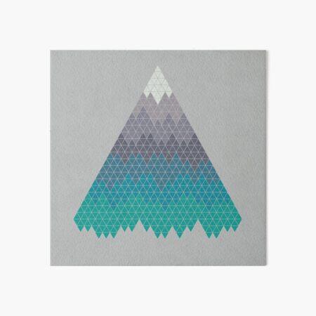 Many Mountains Art Board Print