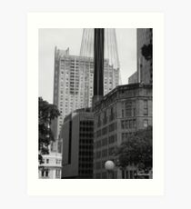 Sydney - Streetscape 2 Art Print