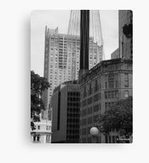 Sydney - Streetscape 2 Canvas Print