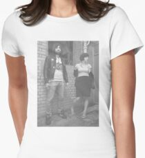 Crystal Castles Retro Shirt without Name logo **ON SALE** Women's Fitted T-Shirt