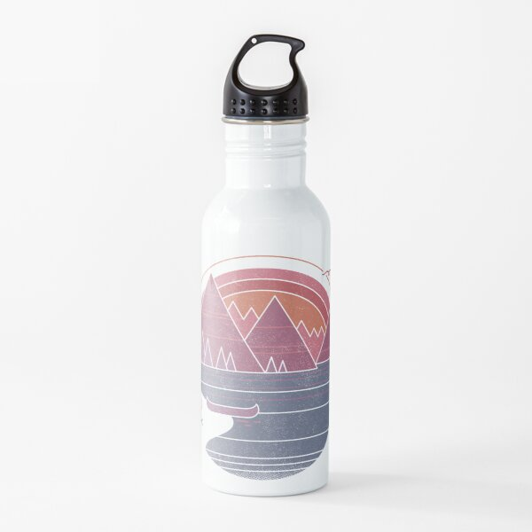 The Mountains Are Calling Water Bottle