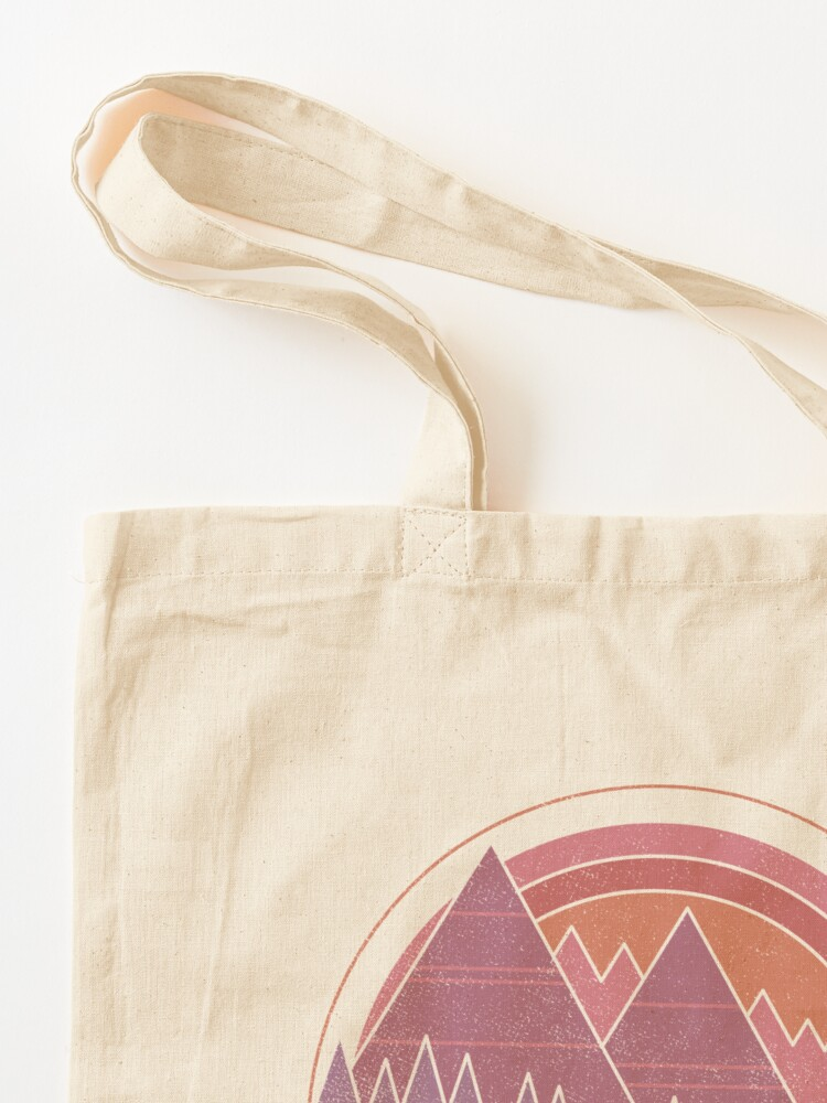 Alternate view of The Mountains Are Calling Tote Bag