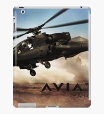 AH-64 Apache Helicopter iPad Case/Skin