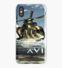 EH-101 Merlin Helicopter iPhone Case/Skin