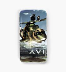EH-101 Merlin Helicopter Samsung Galaxy Case/Skin