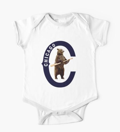 Bear with Bat Kids Clothes
