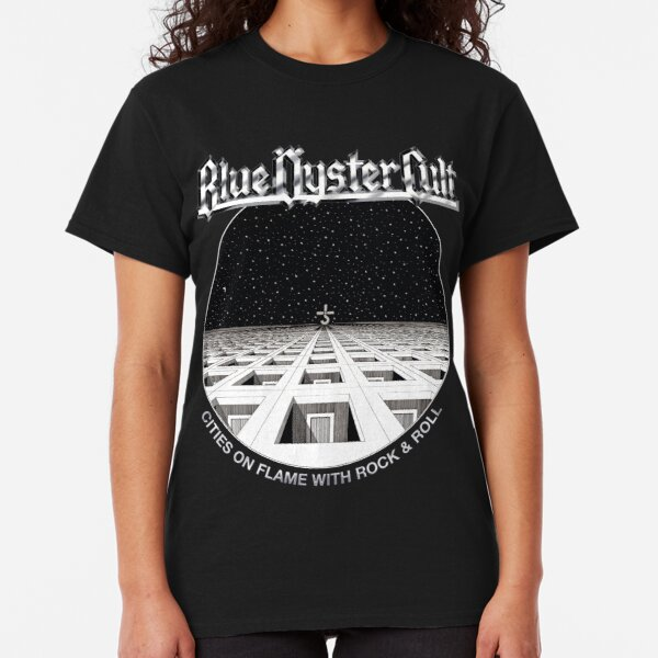 Blue Oyster Cult - Cities On Flame Classic T-Shirt
