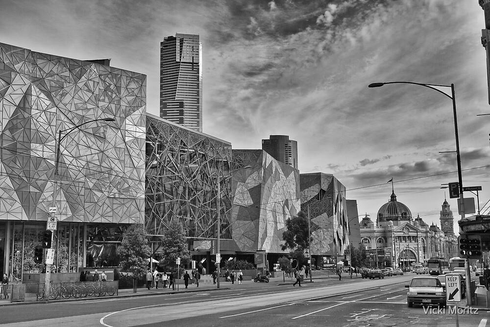Federation Square, Melbourne by Vicki Moritz