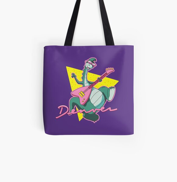 The Last Dinosaur All Over Print Tote Bag