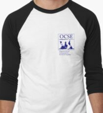 The Organization of Cartographers for Social Equality Men's Baseball ¾ T-Shirt