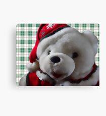 Christmas Bear Canvas Print