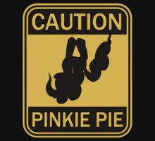 Caution: Pinkie Pie (MLP:FiM)