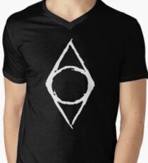 Thieves Guild Shadowmark (white) Men's V-Neck T-Shirt
