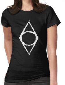 Thieves Guild Shadowmark (white) Womens Fitted T-Shirt