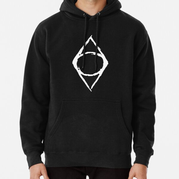 Thieves Guild Shadowmark (white) Pullover Hoodie