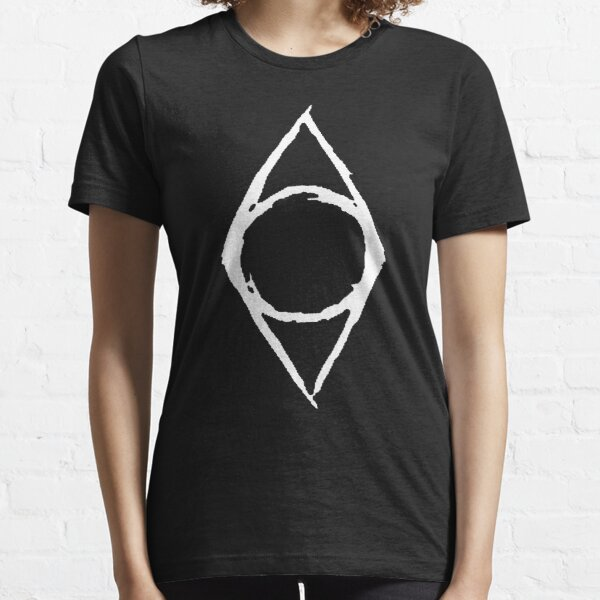 Thieves Guild Shadowmark (white) Essential T-Shirt