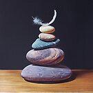 """Stone tower 1"" by Elena Kolotusha"