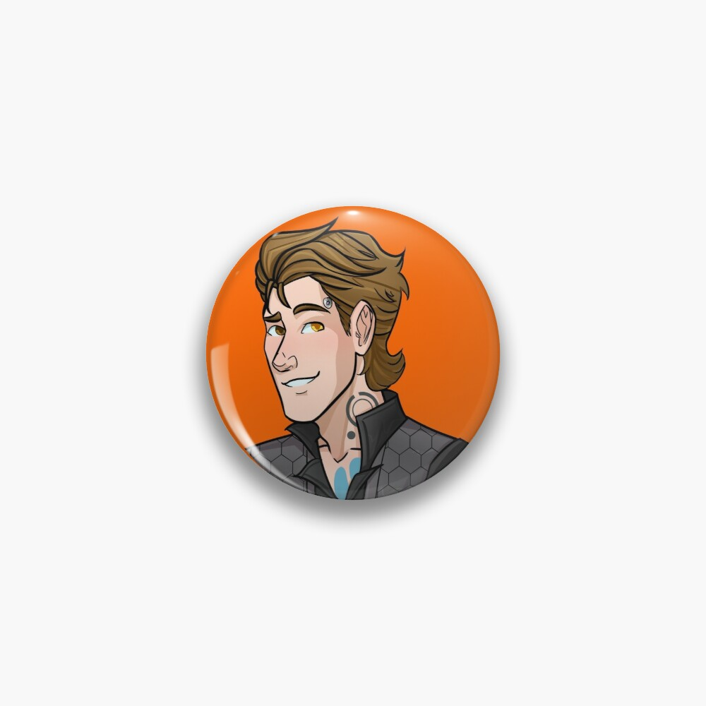 Rhys Strongfork - Tales From The Borderlands Pin