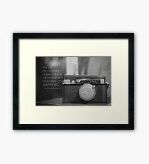 Camera Henri Cartier-Bresson Framed Print