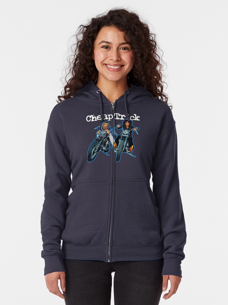 Alternate view of Cheap Trick Zipped Hoodie
